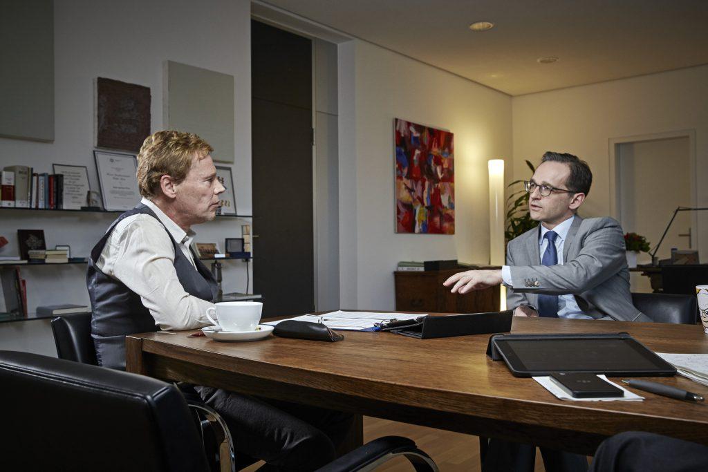 Heiko Maas, Bundesjustizminister, im Interview