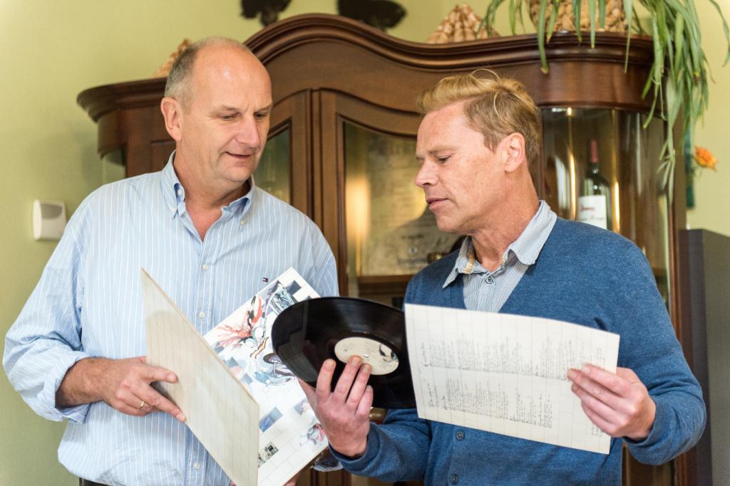 Marc Kayser mit Ministerpräsident Dietmar Woidke