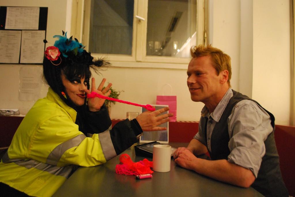 Marc Kayser und Nina Hagen im Gespräch